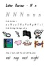 Letter Activity Worksheets- Qld Font - Review Letters s,a,