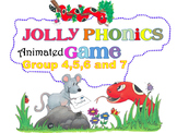 Jolly Phonics Animated PPT Game with sound effects- Group