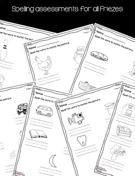 Jolly Phonics Sound Worksheets & Assessments