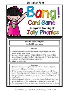 Phonics BANG! Card Game