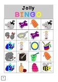 Jolly Phonics Bingo - Single Sounds Only (Graphs) - Differ