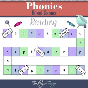 Jolly Phonics Board Games