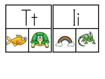 Phonics Center Choose and Clip  SAMPLE
