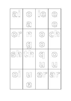 Jolly Phonics Digraphs