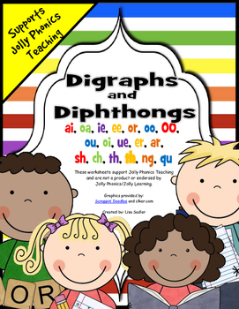 Phonics Digraphs and Diphthongs Activities