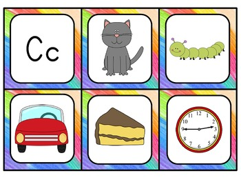 Initial Sounds & Digraphs Cards