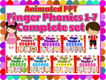 Jolly Phonics Activities Bundle - Animated PPT w sound effects (Smartboard)