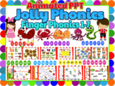 Jolly Phonics Activities Bundle - Animated PPT w sound eff