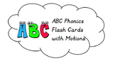 Jolly Phonics Flash Cards with Motions