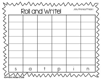 Jolly Phonics Frieze 1 Letters Roll and Write [[FREEBIE!!]]