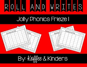 Jolly Phonics Frieze 1 Roll and Write [[FREEBIE!!]]