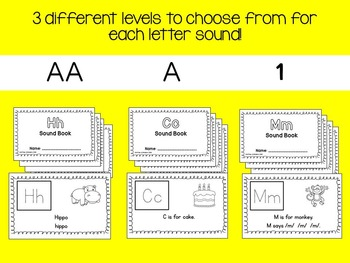 Differentiated Jolly Phonics Frieze 2 Letter Sound Emergent Readers