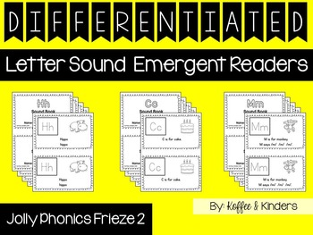 Differentiated Jolly Phonics Frieze 2 Letter Sound Emergen