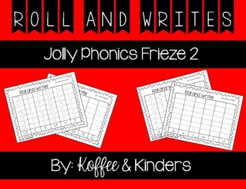 Jolly Phonics Frieze 2 Letters Roll and Write