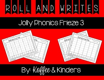 Jolly Phonics Frieze 3 Roll and Write