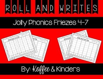 Jolly Phonics Frieze 4-7 Letters Roll and Write