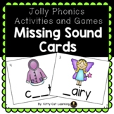Jolly Phonics Games - Missing Sound Fill in the Blank Cards