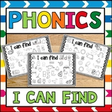 Phonics Center I Can Find I Spy Sample