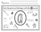 Phonics - I Spy Search and Find Picture Worksheets