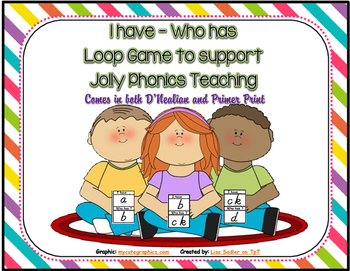 Phonics Loop Card Game ( I have - Who Has )