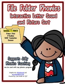 Phonics Interactive File Folder Sound Sort