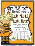 Phonics - Write the Room - Book Three