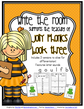 Phonics - Write the Room - Book Three