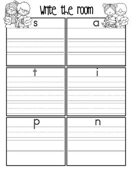 Phonics - Write the Room - BIG BUNDLE INCLUDES BOOKS 1 -7