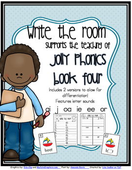 Phonics - Write the Room- Book Four