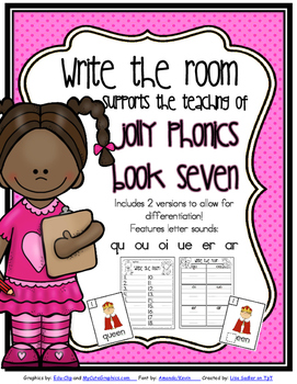 Phonics - Write the Room- Book Seven