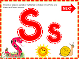 Jolly Phonics Learning Letter Formation Animated PPT w/ So