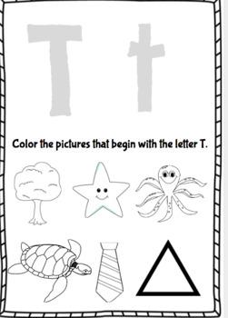 Jolly Phonics Letter Picture Beginning Sound Match By Travelteachbeach