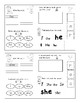 Jolly Phonics Level 1 (Red) Tricky Words worksheets