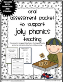 Phonics Oral Assessment Packet