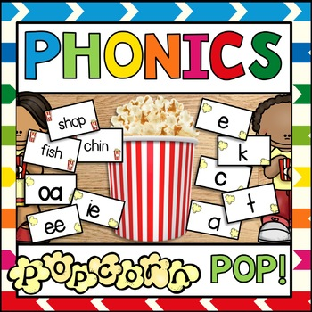 Phonics Center POP Differentiated
