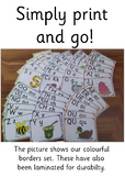 Jolly Phonics Picture and Letter Flashcards - 42 sounds