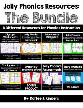 Jolly Phonics Resources: The Bundle