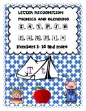 Jolly Phonics: S, a, t, p, i, n Skills Practice, Pre- K, and K Math Skills!!