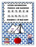 Jolly Phonics: S, a, t, p, i, n , Blending, PreK, K Math S