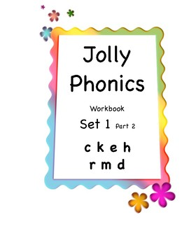 Jolly Phonics Set 1 Part 2 Workbook