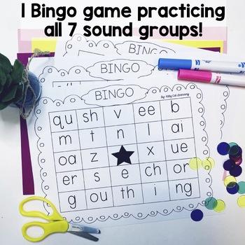 Jolly Phonics Games - Sound Bingo