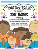 Phonics Sound Book Template