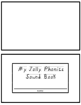 Phonics Sound Book Template
