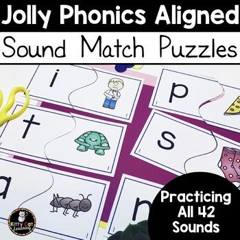 Jolly Phonics Sound Match Puzzles