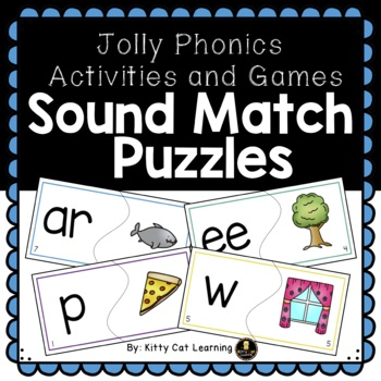Jolly Phonics Games - Sound Match Puzzles