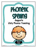 Phonetic Spelling - Primer Print