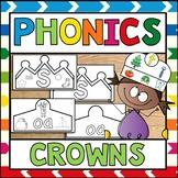 Phonics Alphabet Crowns
