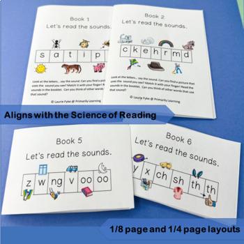 Phonics Sound Books complement programs like Jolly Phonics.