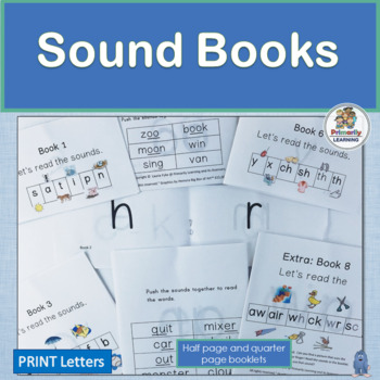 Jolly Phonics teaches sounds in the same order as these Sound Books!