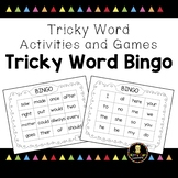 Tricky Word Games - Bingo! - Jolly Phonics Aligned